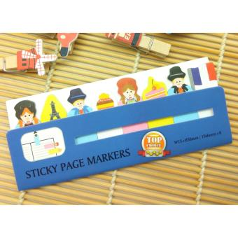 Harga Post It / Sticky Notes / Kertas Memo Tempel / Memo Stick Lucu Country - GM-213