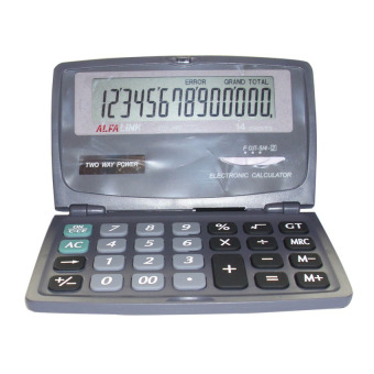Harga Alfalink Calculator CD-240 - Hitam