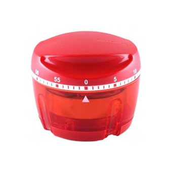 Harga Tupperware Kitchen Timer - Merah