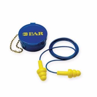 Harga 3M Earplug E-A-R Ultrafit corded with case 1 Ea