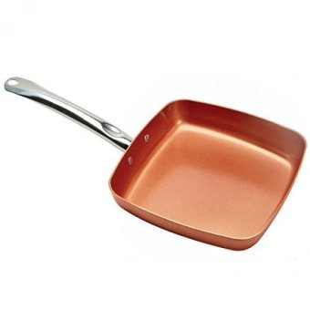 "Harga Copper Chef 9.5"" Square Fry Pan - intl"