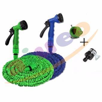 Harga Magic X-Hose Auto Expandable 7.5 m With 2 Connector Type A & C - Multicolor
