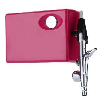0.4mm Multi-purpose Airbrush Compressor Spray Art Paint Gun Kit Set-EU Plug