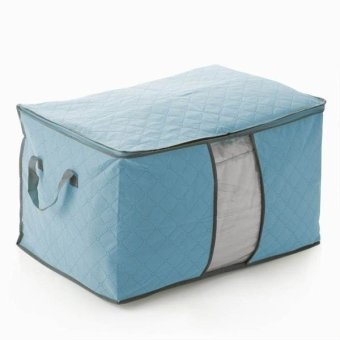 Harga Storages and Organizers Bag Clothes and Blankets Organizer Tidur - Biru