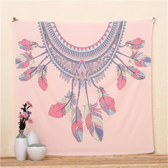 Dreamcatcher Printed Square Wall Hanging Tapestry