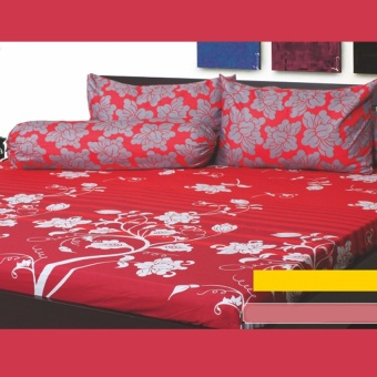 Harga California Sprei Motif Verena uk Queen