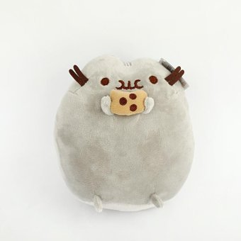 Harga Rorychen Donuts Cat Ice Cake Cat Cookies Pougou Pusheen Cat Dolls Plush Toys Dolls - intl