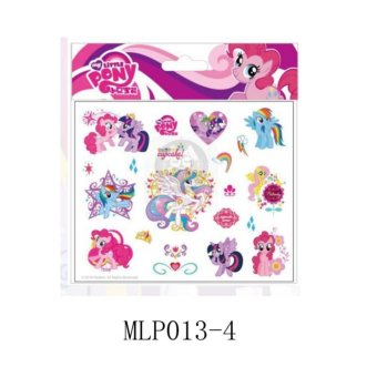 Harga Yika Little Pony DIY Temporary Tatto Sticker - intl