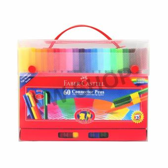 Harga Faber-Castell Spidol 60 Warna - 60 Connector Pens Gift Set