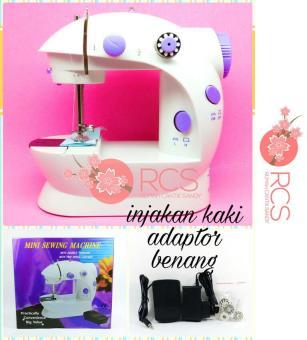 Harga Mesin Jahit Mini Portable Gt-202 Sewing Machine