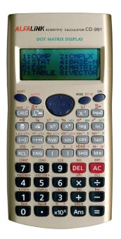 Harga ALFA LINK Store Calculator Desktop 12 Digits CD-991 Gold