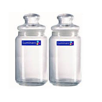 Harga Luminarc Toples Rondo Jar 1000 ml - 2pcs