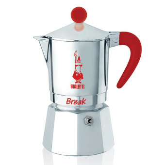 Harga Bialetti Break Espresso Maker Red 3 cup
