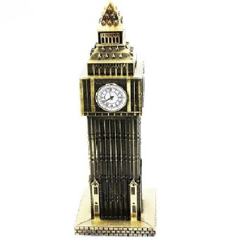 MMSTR Pajangan Miniatur Menara Big Ben London - Dark Gold