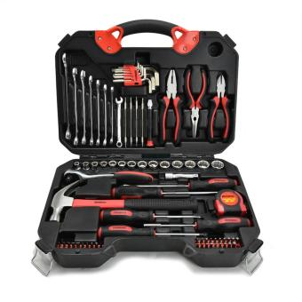 Harga Krisbow Mechanical Tool Set - Hitam
