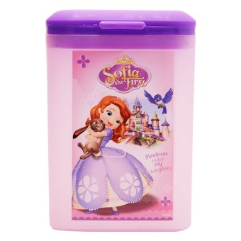 Harga Disney Junior Sofia The First Square Trash Bin Pink