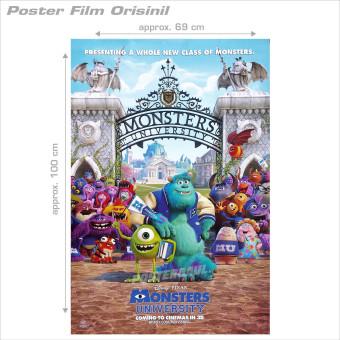 Poster foil emas jumbo YESUS KRISTUS FOJU13 size 50 X 69 cm. Source · Circle. Source · Harga Movie poster: Monster University - original Indonesian one ...