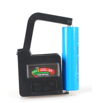 Harga New AA/AAA/C/D/18650/9V/1.5V Universal Button Cell Battery Volt Tester Checker - intl