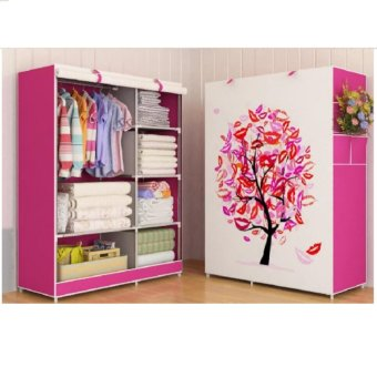 Harga Wardrobe Multifunction 03 Tree
