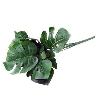 OHOME Daun Artifisial AN-B000457 Daun Philodendron 5 Cabang Dekorasi Rumah  - Hijau f6c7ba5d38