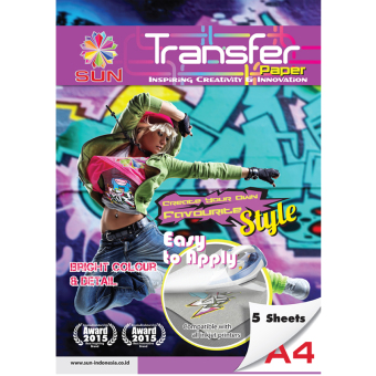 Harga Kertas Transfer - SUN Next Generation Glossy Transfer Paper Light A4