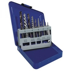irwin drill bits. irwin hanson spiral extractor and drill bit set, 10 piece, 11119 - intl irwin bits