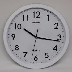 Jam Dinding Standart - Putih (Quartz)
