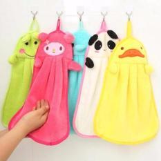 Kain Lap Tangan Gantung Microfiber Karakter Lucu Murah - Hand Towel Handuk Kecil