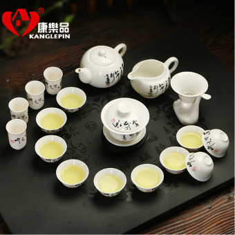 Kanglepin porselen putih perjalanan cangkir teh aroma secangkir