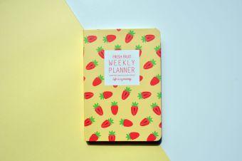Kecil buah segar diary PDA
