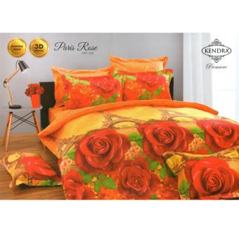 Kendra Premiere Sprei Set Paris Rose Single Size 120x200