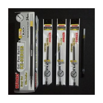 KENKO Gel Pen Refill - KE-SERIES (2 Lusin)