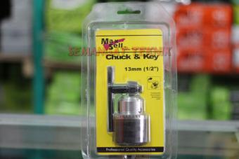 Harga Kepala Bor Drill Chuck & Key 13Mm Maxsell Max Sell