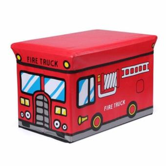 Harga Kid Storage Box Bus Toys - Kotak Peyimpanan Mainan Model Bus