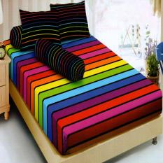 Kintakun Dluxe Sprei Single Motif Rainbow 120x200 cm