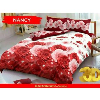 Kintakun Dluxe Sprei Uk.160x200 Motif Nancy