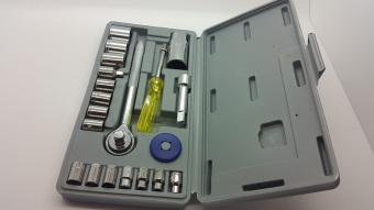 Kunci Socket Wrench 1 Set 21 pcs