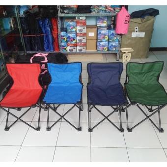 Kursi Lipat Sandaran Praktis Portable ( untuk camping ataumemancing)