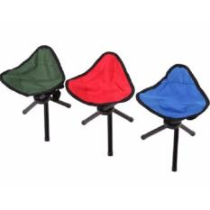 Kursi Lipat Segitiga 3 Kaki Foldable Chair Tempat Duduk Portable