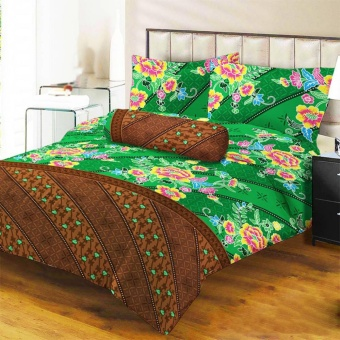 Lady Rose Sprei Queen Motif Rahayu 160x200 cm