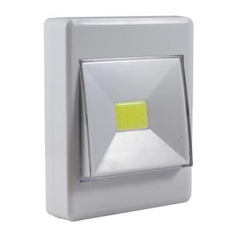 Lampu Emergency Led Dinding Steker / COB LED Wireless Night Switch Light