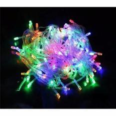 Lampu Hias Beras 100 Lampu Warna Warni Hiasan Di Pohon Natal