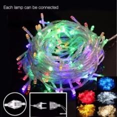 Lampu Hias Natal RGB Tumblr LED 10 Meter + Ada Colokan Sambungan