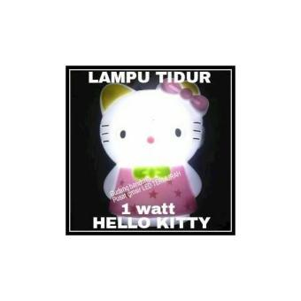 LAMPU TIDUR LED HELLO KITTY 1 WATT