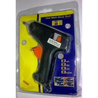 Laris 102 - Alat Lem Tembak Glue Gun Stick Cair Lengket Refill Alat Membakar Melelehkan - 2 Pcs - Black - 5