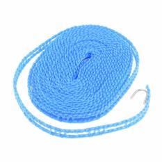 LARIS49 Tali Jemuran 5 meter Serbaguna / Baju Handuk Hanger - Gantungan Baju BIRU