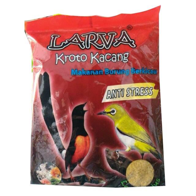 Larva Makanan Burung Halus