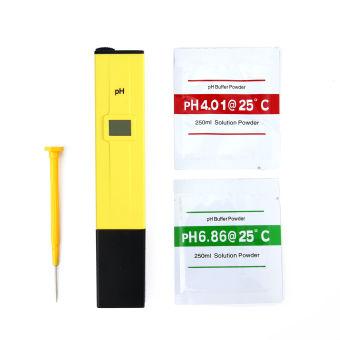 LCD pengukur PH + Digital TDS penguji TDS EC PPM suhu penguji kemurnian air saringan pena ...