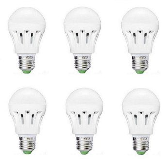 LED - Lampu Bulb Led 5 Watt Paket 6 Pcs