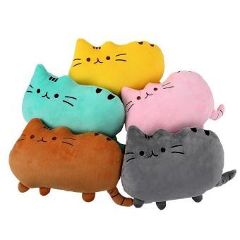 leegoal dekoratif lucu kucing besar bantal untuk anak-anak dan orang dewasa, Sofa Bed